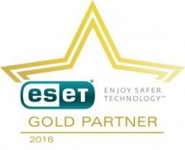eset GOLD PARTNER 2016